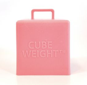 65GM CUBE WEIGHT BABY PINK 10CT