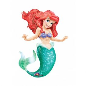 "38""x53"" LITTLE MERMAID AIRWALKERS (PK)"