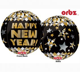 ORBZ NEW YEAR GOLD PATTERNS (PK)