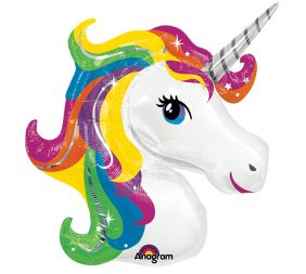 "33"" RAINBOW UNICORN (PK)"