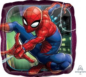 "18"" SQ SPIDER-MAN ANIMATED (PK)"