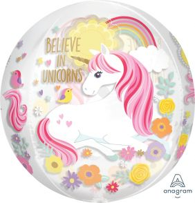 "15""X16"" ORBZ MAGICAL UNICORN (PK)"