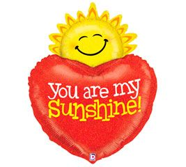 """37"""" YOU ARE MY SUNSHINE HLG(PK)"""