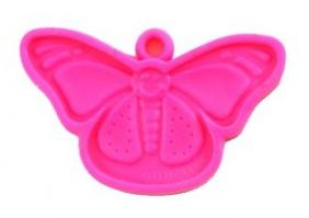 15GM BUTTERFLY WEIGHT HOT PINK 50CT