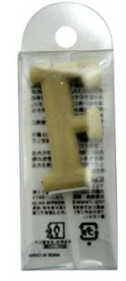 CANDLE ALPHABETS F