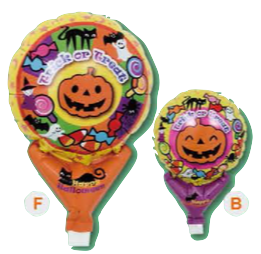 "05"" UPRIGHT TRICK OR TREAT PUMPKIN FOIL"
