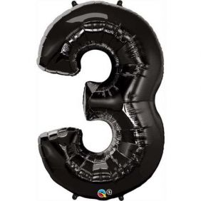 "44"" NUMBER 3(THREE) ONYX BLACK (PK)"