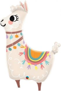 "45"" SHAPE LOVEABLE LLAMA  (PK)"