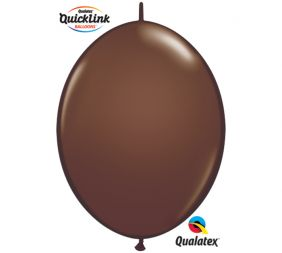 "06"" QLINK CHOCOLATE BROWN 50CT"