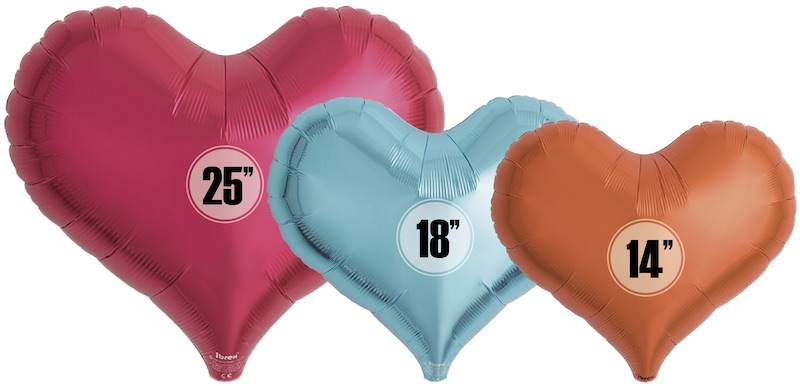 IBREX JELLY HEART SOLID COLOUR