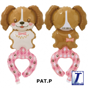 HAPPY BEAGLE DOG (H18CM/W13CM)