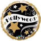 "18"" RND HOLLYWOOD STARS (PK)"