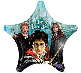 "18"" RND HAPPY BDAY HARRY POTTER (PK)"