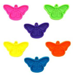 15GM BUTTERFLY WEIGHT NEON AST 50CT