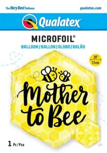"20"" HEXAGON MOTHER TO BEE (PK)"
