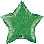 "20"" STAR CRYSTALGRAPHIC GREEN FOIL"