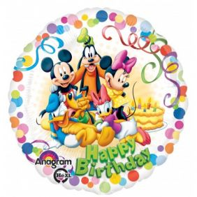"18"" RND MICKEY & FRIENDS PARTY (PK)"