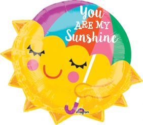 "18"" SHAPE YOU ARE MY SUNSHINE (PK)"