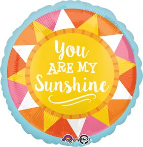 "18"" RND YOU ARE MY SUNSHINE (PK)"