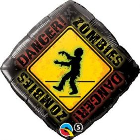"18"" DMD ZOMBIES CROSSING (PK)"