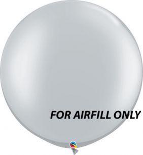 """30"""" RND SILVER 2CT *AIRFILL ONLY"""