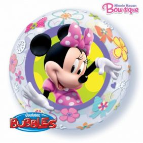 "22"" MINNIE MOUSE BOW-TIQUE S.BUBBLE (PK)"