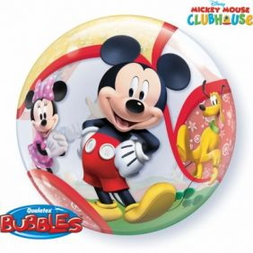 "22"" MICKEY & HIS FRIENDS S.BUBBLE (PK)"