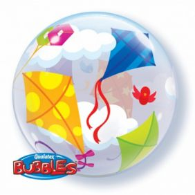 "22"" KITES IN FLIGHT SINGLE BUBBLE (PK)"