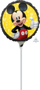 "09"" RND MICKEY MOUSE FOREVER FLAT FOIL"