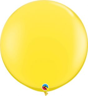 3FT RND YELLOW 2CT QUALATEX PLAIN LATEX