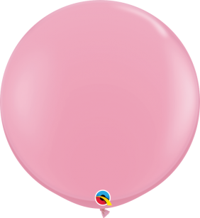 3FT RND PINK 2CT QUALATEX PLAIN LATEX