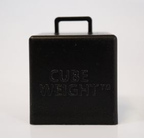65GM CUBE WEIGHT BLACK 10CT