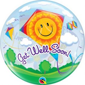 "22"" SB GET WELL SOON! KITES PK"