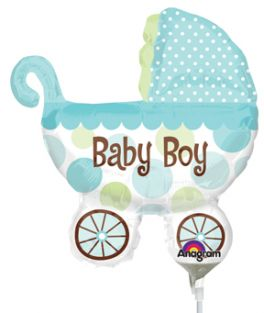 MINI SHAPE BABY BUGGY BOY FOIL
