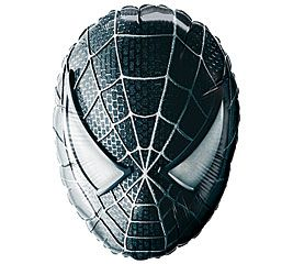"27"" SPIDER-MAN FACE BLACK (PK)"