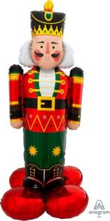 "36""X52"" AIRLOONZ NUTCRACKER GREETER (PK)"