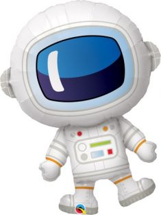 "37"" SHAPE ADORABLE ASTRONAUT FLAT FOIL"