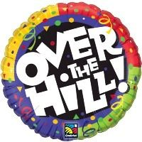 "18"" OVER THE HILL! CONFETTI (PK)"