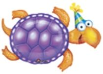 "36""x25"" LEAP FROG FRIENDS TURTLE BDAY"