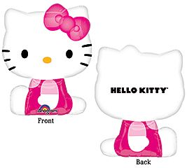 MINI SHAPE HELLO KITTY SHAPE FOIL