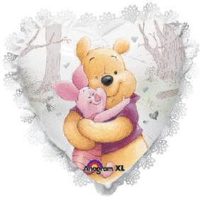 "24"" INTRICATES POOH&PIGLET HUG (PK)"