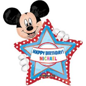 "24""x30"" MICKEY BDAY PERSONALIZED (PK)"