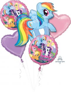 BOUQUET-MY LITTLE PONY BIRTHDAY