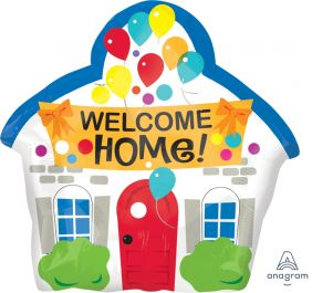 "16""x16"" WELCOME HOME HOUSE (PK)"