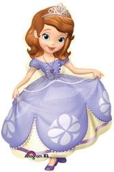 "35"" SOFIA THE FIRST POSE (PK)"