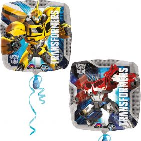 "17"" SQ TRANSFORMERS ANIMATED PK"