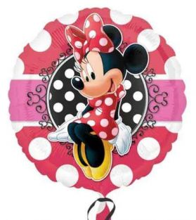 "18"" RND MINNIE MOUSE PORTRAIT (PK)"