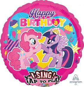 "28"" SING-A-TUNE MY LITTLE PONY BIRTHDAY (PK)"