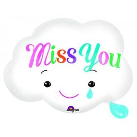 "18"" SHP MISS YOU CLOUD (PK)"