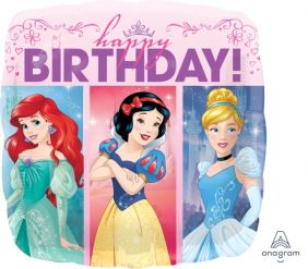 "18"" SQ PRINCESS DREAM BIG BDAY (PK)"